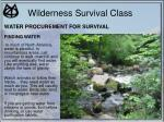 wilderness survival class25