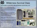 wilderness survival class35