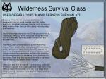 wilderness survival class36