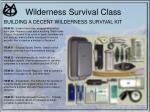 wilderness survival class40