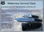 wilderness survival class42