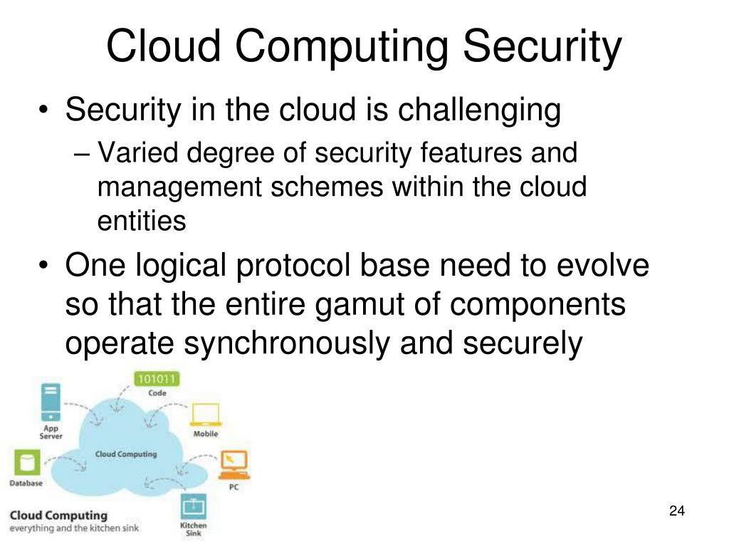 cloud computing and security challenges