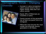 demographic trends changing diversity