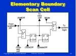 elementary boundary scan cell