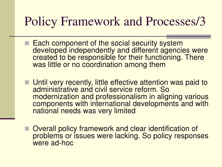 Policy Framework and Processes/3