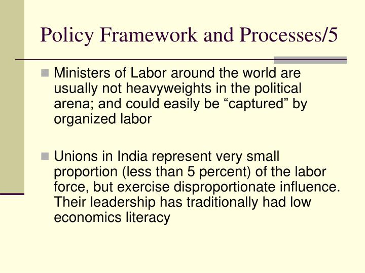 Policy Framework and Processes/5