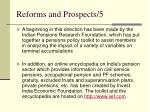 reforms and prospects 5