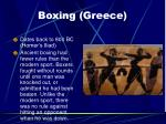 boxing greece