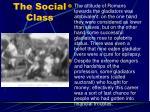 the social class