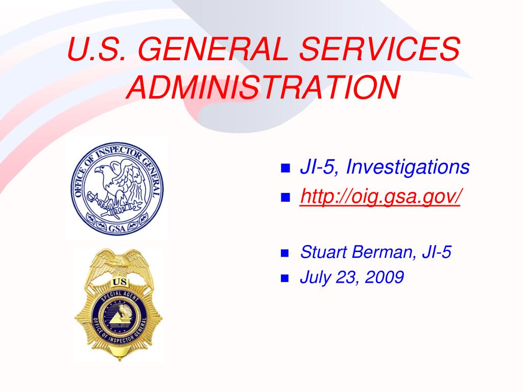 U.S. GENERAL SERVICES