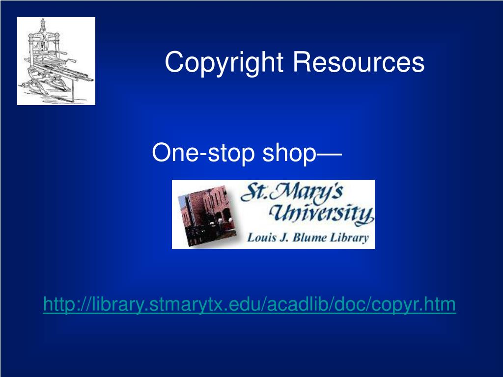 Copyright Resources