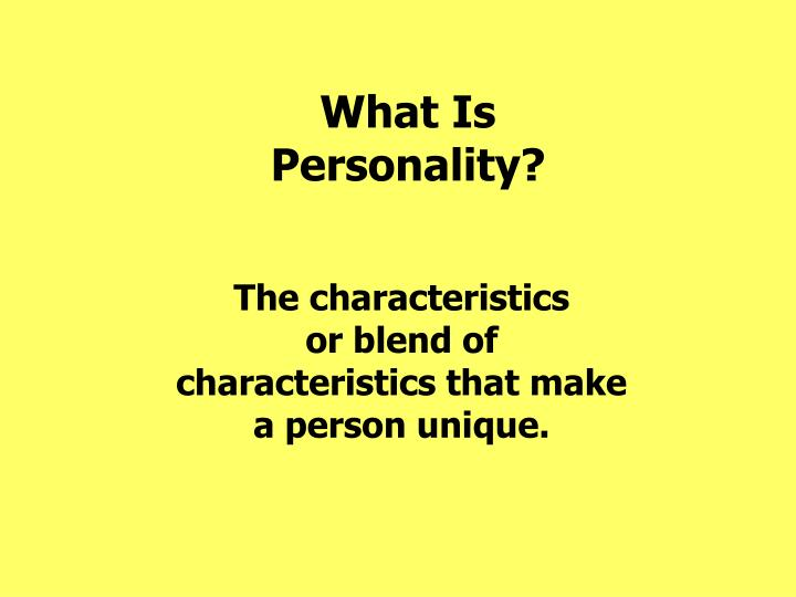 personality characteristics and health psychology Social / personality / health psychology the impact of personality characteristics and social support on health, the impact of stress on disease.