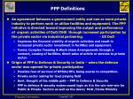 ppp definitions