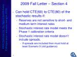 2009 fall letter section 447