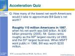 acceleration quiz21