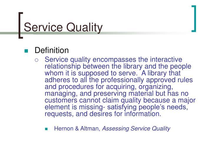 Service quality2