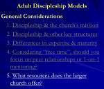 adult discipleship models13