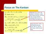 focus on the kanban19