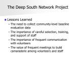 the deep south network project25