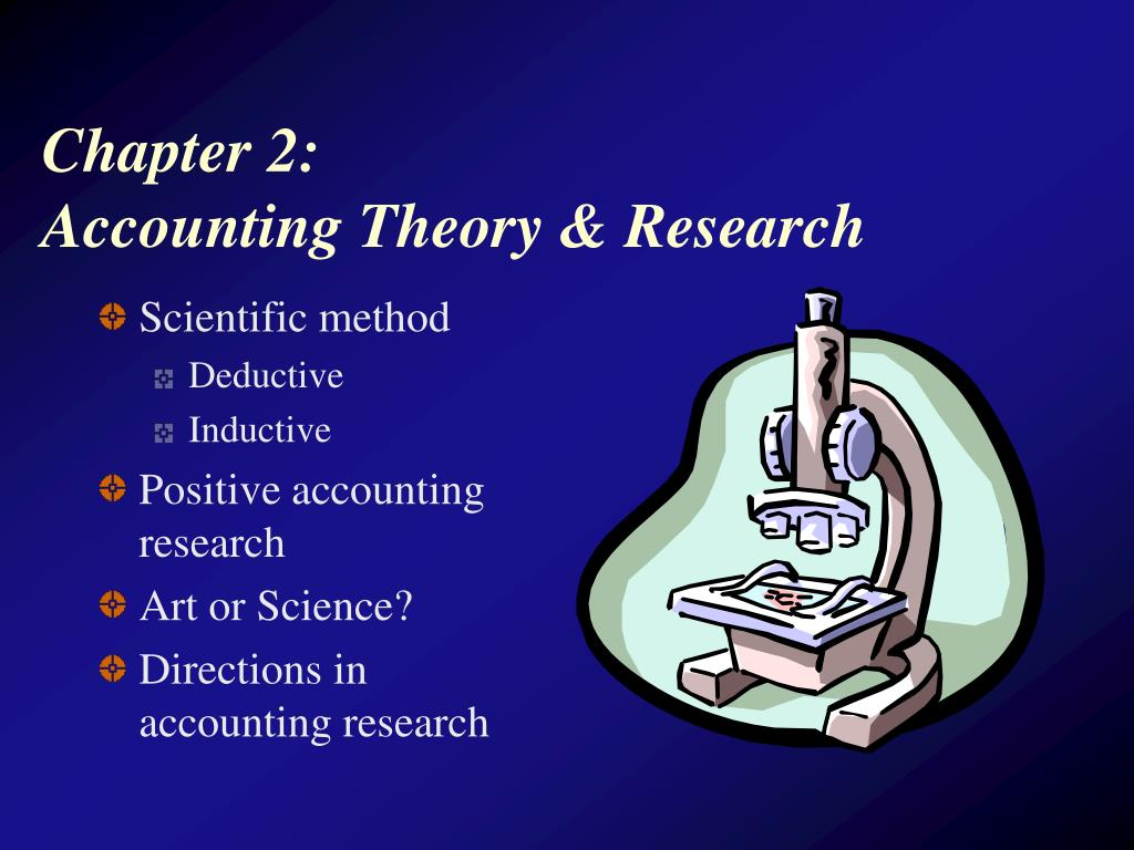 chapter 2 accounting theory research l.