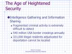 the age of heightened security2