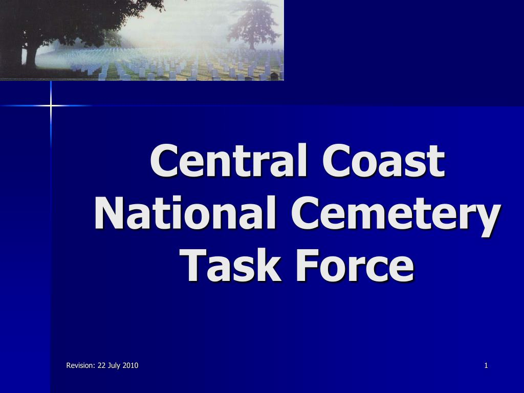 central coast national cemetery task force l.