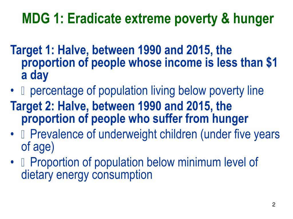 eradicate extreme poverty and hunger essay