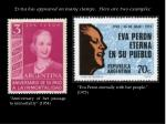 evita has appeared on many stamps here are two examples