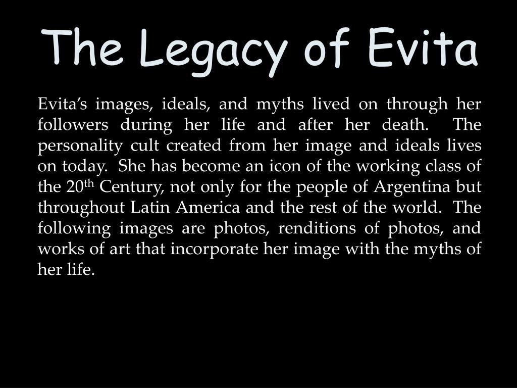 The Legacy of Evita