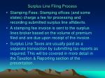 surplus line filing process32