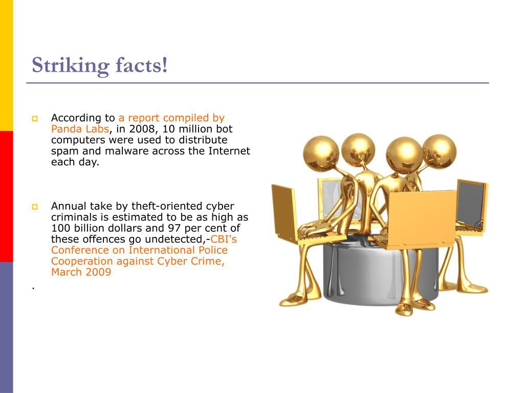 Striking facts!