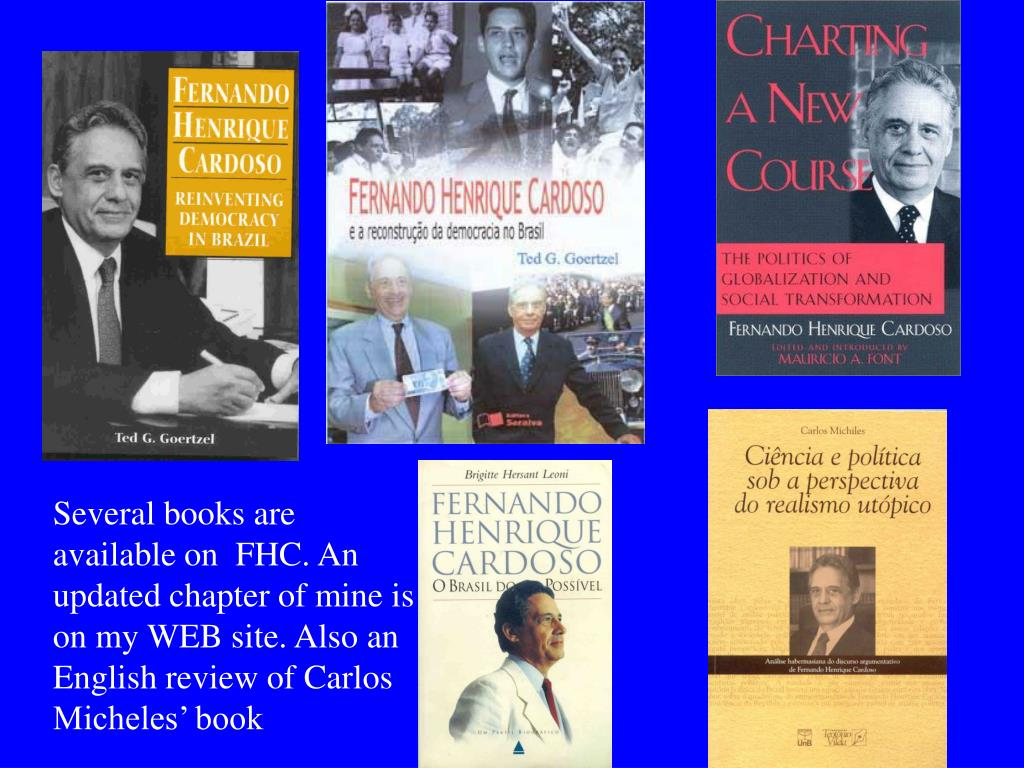 Several books are available on  FHC. An updated chapter of mine is on my WEB site. Also an English review of Carlos Micheles' book