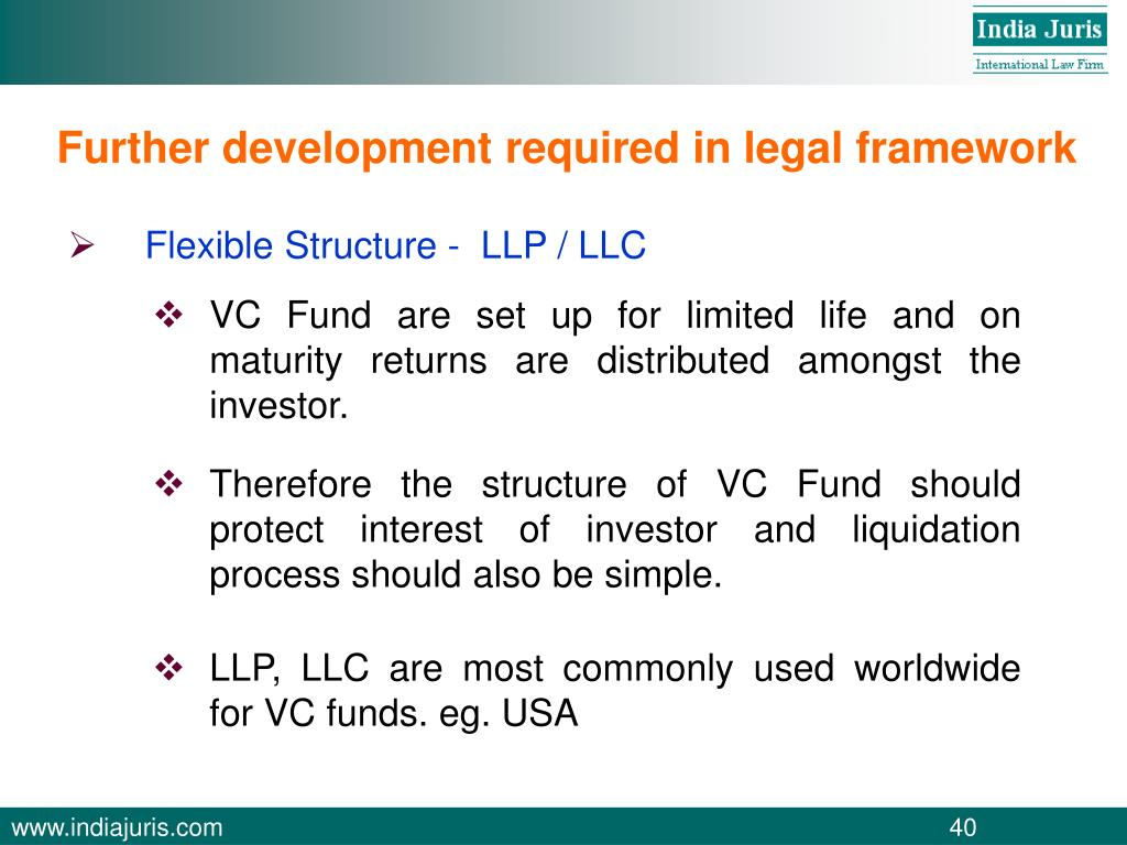 Further development required in legal framework