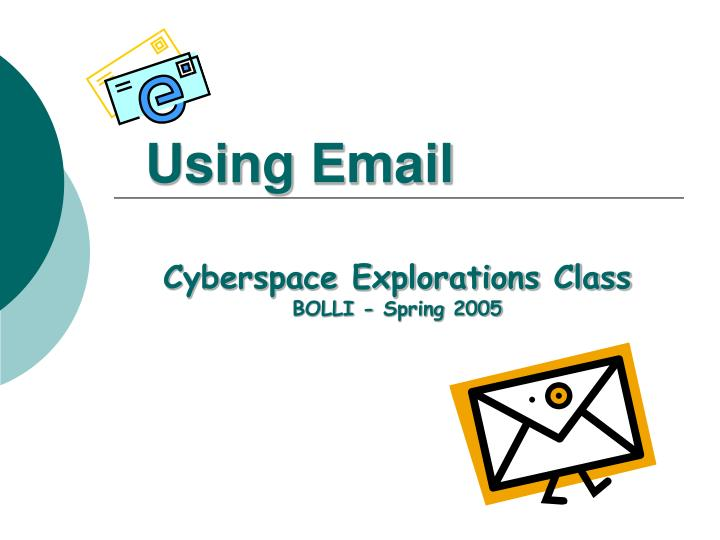using email n.