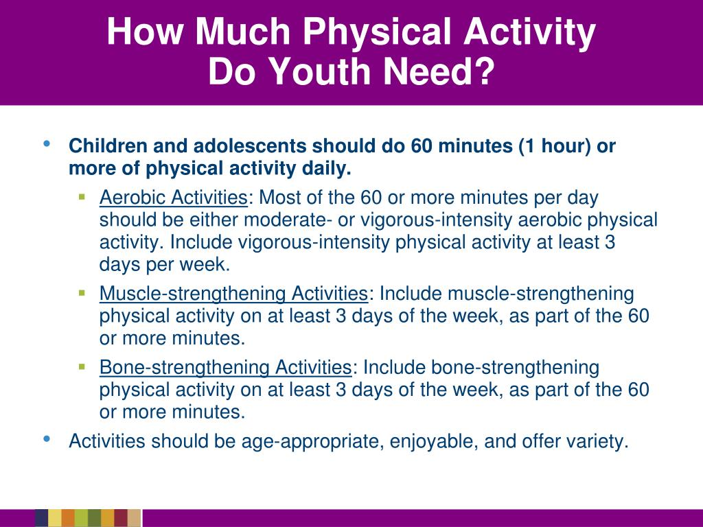 How Much Physical Activity