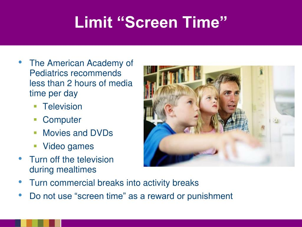 "Limit ""Screen Time"""