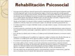 rehabilitaci n psicosocial