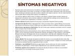 s ntomas negativos