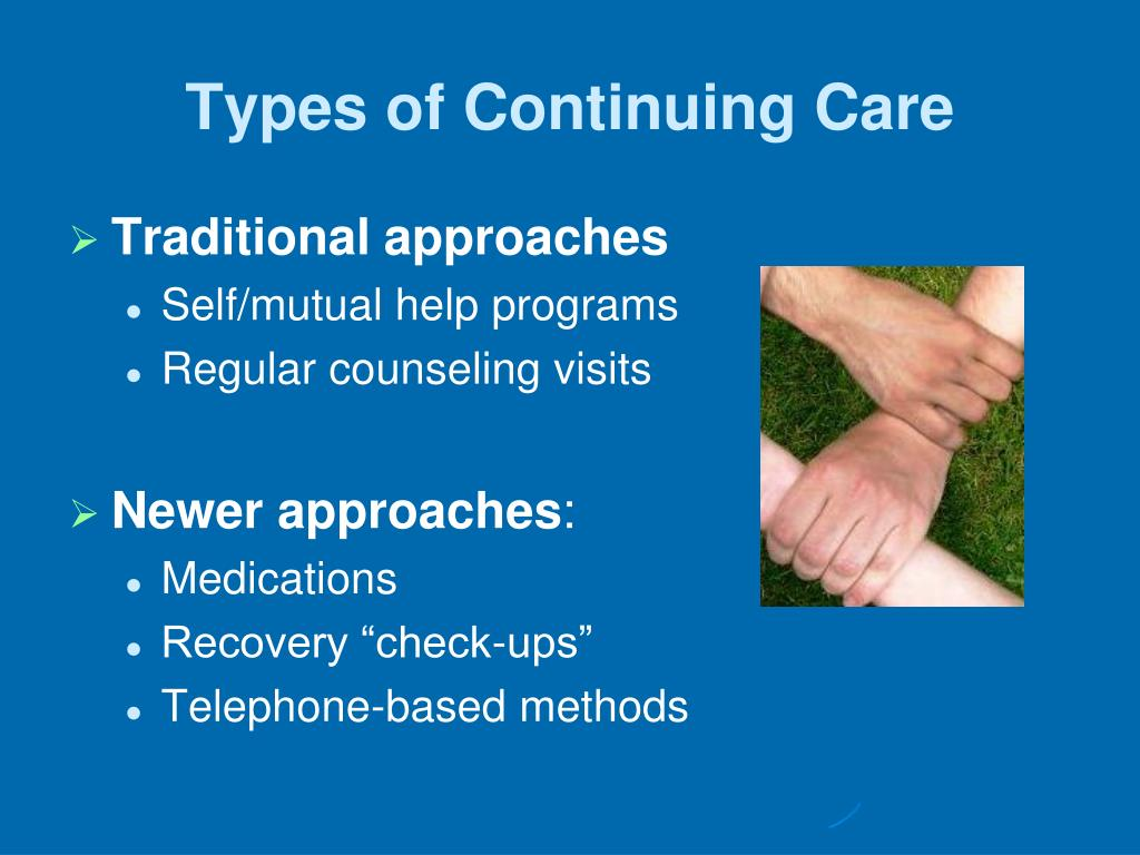 Types of Continuing Care