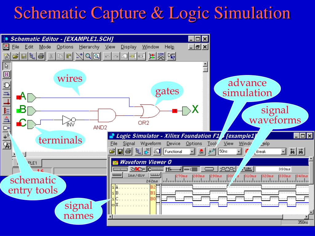 Schematic Capture & Logic Simulation