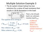 multiple solution example 3