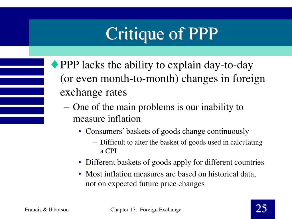Critique of PPP
