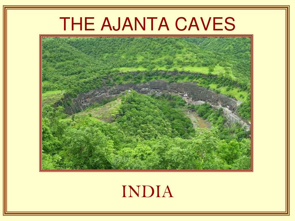 the ajanta caves l.