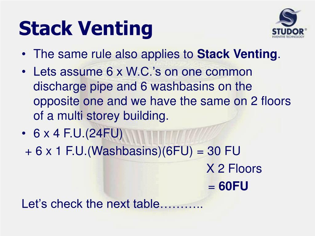 Stack Venting