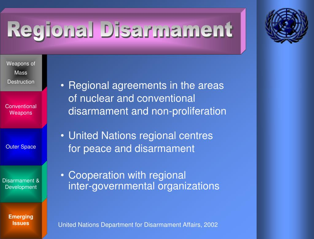 United Nations Department for Disarmament Affairs, 2002