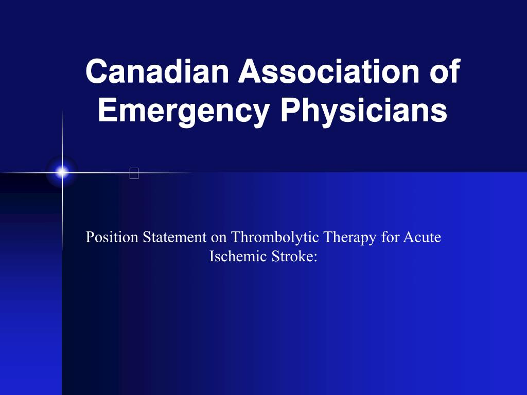 Canadian Association of Emergency Physicians