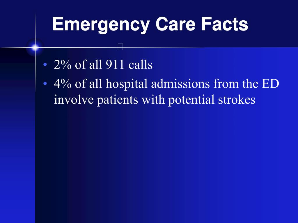 Emergency Care Facts