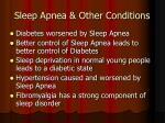 sleep apnea other conditions