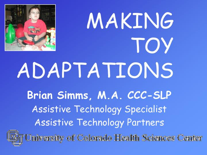 making toy adaptations n.