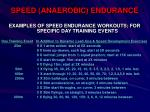 speed anaerobic endurance38